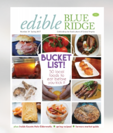 Edible Blue Ridge Cover - Spring 2017